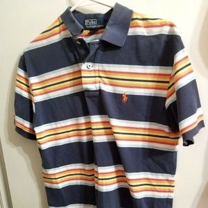 Polo Ralph Lauren Striped Polo Shirt Size S R15E